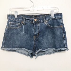 Forever 21 Distressed Cutoff Frayed Jean Shorts